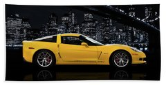 Corvette Z06 Gt1 Beach Towel