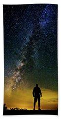 Cosmic Contemplation Beach Towel