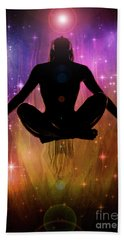 Beach Towel featuring the photograph Cosmic Enlightenment... by Nina Stavlund