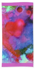 Cosmic Love Beach Towel