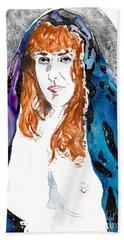 Cosmic Queen Sof The Universe  Beach Sheet