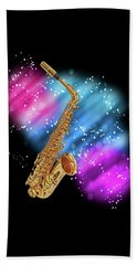 Cosmic Sax Beach Sheet