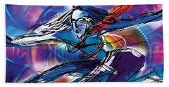 Cosmic Shiva Speed Beach Sheet