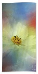 Cosmos Dreaming Abstract By Kaye Menner Beach Towel
