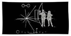 Cosmos Greetings  Beach Towel
