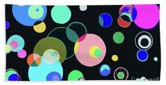 Cosmos Night Beach Sheet by Beth Saffer
