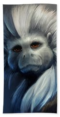 Cotton Top Tamarin Beach Towel