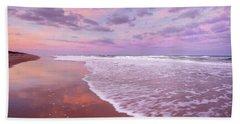 Cotton Candy Sunset. Beach Sheet
