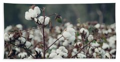 Cotton Field 5 Beach Towel by Andrea Anderegg