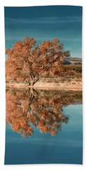 Cotton Wood Tree  Beach Sheet