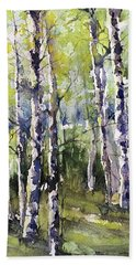Cottonwoods And Sycamores Beach Towel