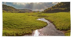 Coulee View Beach Towel
