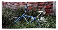 Beach Towel featuring the photograph Country Bicycle by Brad Allen Fine Art