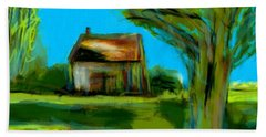 Country Landscape Beach Towel by Jim Vance