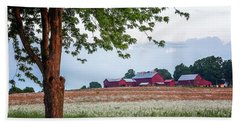 Beach Towel featuring the photograph Country Living by Everet Regal