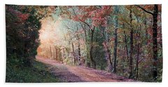 Country Road Beach Towel by Bill Stephens