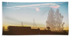 Countryside Boeing Beach Towel