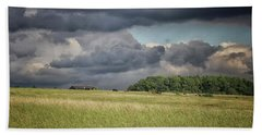 Countryside Storms Beach Towel