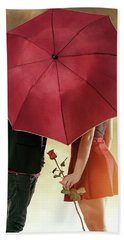 Beach Towel featuring the photograph Couple Of Sweethearts by Carlos Caetano