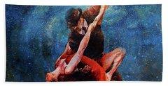 Couple Tango Dance 8885 Beach Towel