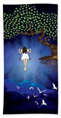 Dreamscape Beach Sheet by Serena King