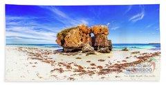Cow - Sentry Rock, Two Rocks Beach Towel