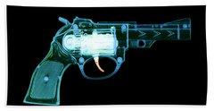 Cowboy Gun 001 Beach Towel