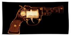 Cowboy Gun 002 Beach Towel
