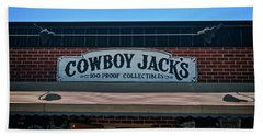 Cowboy Jack's Beach Towel