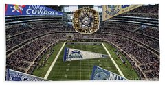 Cowboys Super Bowls Beach Towel