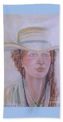 Cowgirl Beach Towel