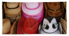 Cowgirl Hats Beach Sheet