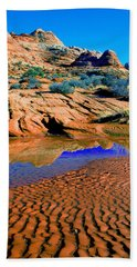 Coyote Buttes Reflection Beach Towel
