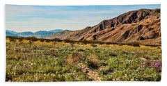 Coyote Canyon Meadow View Beach Towel