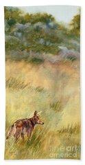 Coyote Santa Rosa Plateau Beach Towel