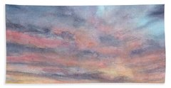 Coyote Sunset Beach Towel