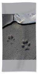 Coyote Tracks Beach Towel