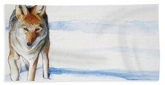 Coyote Trot Beach Towel