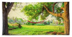 Beach Towel featuring the photograph Cozy Lazy Afternoon by James BO Insogna