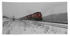 Beach Sheet featuring the photograph Cp Rail 2 by Stuart Turnbull