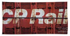 Cp Rail Beach Towel