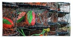 Crab Pots Beach Sheet