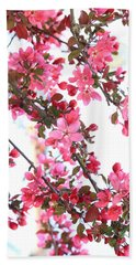 Crabapple Beauty Beach Towel