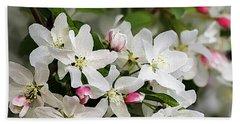 Crabapple Blossoms 13 - Beach Sheet