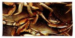 Crabs Awaiting Their Fate Beach Sheet