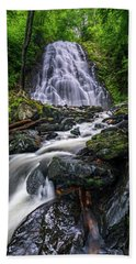 Crabtree Falls North Carolina Beach Towel