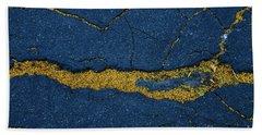 Cracked #6 Beach Towel