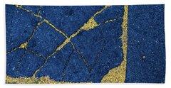 Cracked #8 Beach Towel