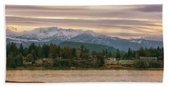Beach Towel featuring the photograph Craig Bay by Randy Hall