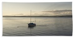Cramond. Boat. Beach Towel